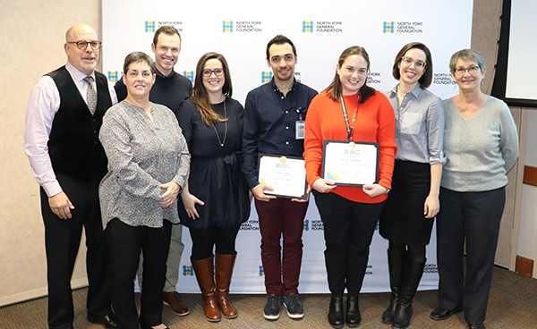 2019 Fall Education Awards - The Anne and Ivan Wiseman Award for Nursing Excellence - CopyHenderson Family
